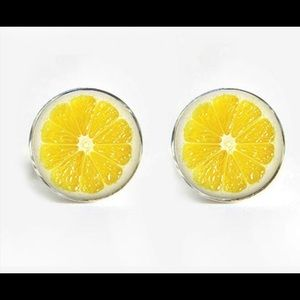 Other - Slice of Lime Cufflinks